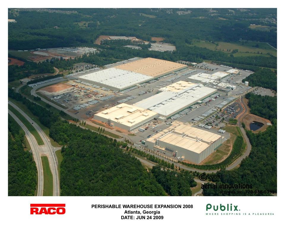 Publix Atlanta Warehouse Jb Steel Erectors
